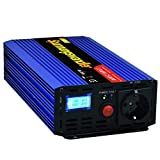 EDECOA Inverter di Potenza 24v 220v Power Inverter 1200w Onda sinusoidale modificata con Schermo LCD Power Inverter 24v 220v