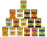 Flash Acrylic Paint Set,16 Colors (50 ml, 1.7 oz) Art Supplies Paint Set with Rich Pigments, Non Fading, Non Toxic Paints, Multi-Surface Paint for Artist, Hobby Painters & Kids