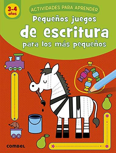 Pequeños Juegos De escritura para Los Más Pequeños (3-4 años) (Actividades para aprender)