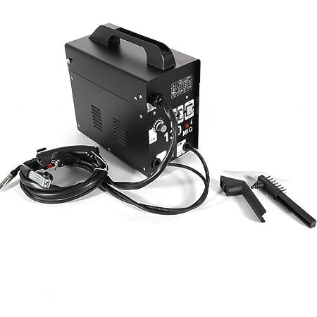 WUPYI2018 MIG-130 Machine à souder fil fourré MIG Soudage Poste à souder 230V 50-120 A Soudeuse Soudure