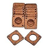 XIARUI Accessori per Stampanti 3D 1/5PCS Stampante 3D Motore Stepper Demper Spessore 3mm Guarnizione in Sughero Ammortizzatore 42 Stepper Motor Damper/Isolator Parti durevoli (Dimensioni: 2mm x1)