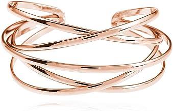 Sterling Silver Bracelet Rose gold Cuff Bracelet Rose Gold Bracelet Sterling Silver Cuff Bracelet Geometric Cuff Bracelet