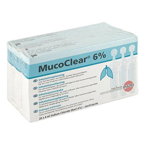 Mucoclear 6% NaCl Inhalationslösung, 60X4 ml