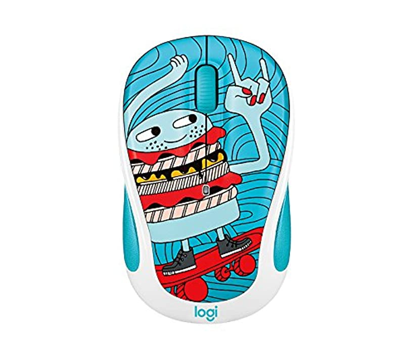 Logitech m317c Wireless Mouse Skate Burger