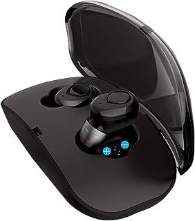 Foccoe audífonos Bluetooth Inalámbricos, Mini Invisible Auricular Inalámbrico Bluetooth Auriculares Deportivos Impermeable