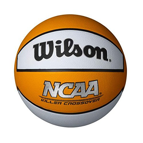 Save %53 Now! Wilson Killer Crossover Basketball, Orange/White, Intermediate - 28.5