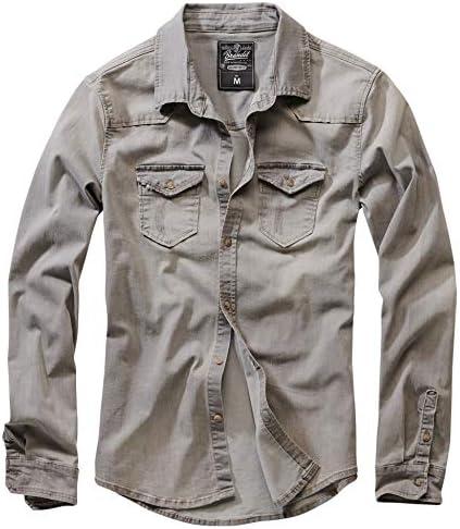 Brandit Hombre Jeans Camisa Riley Denimshirt
