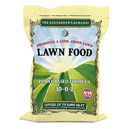 The Old Farmer s Almanac Lawn Food Fertilizer, 5,000 sq. ft.
