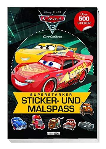 Disney Cars 3: Superstarker Sticker- und Malspaß: über 500 Sticker
