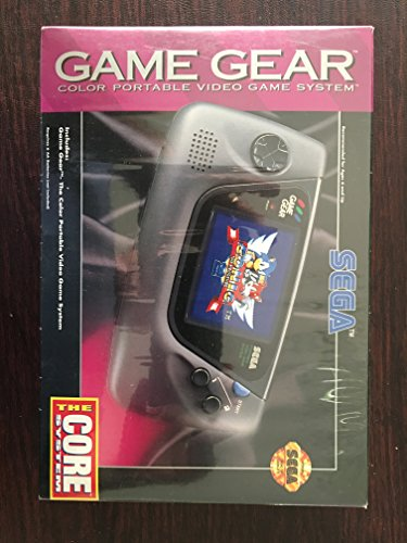 commercial Game Gear Sega Handheld Game System sega handheld systems