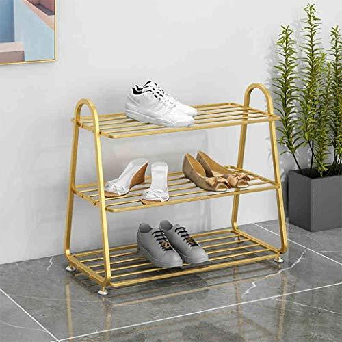 Estante de zapatos, puerta sencilla, artefacto de almacenamiento de lujo ligero, gabinete de zapatería a prueba de polvo de múltiples capas económicos, guapos, tecnología de tubería curvada, protecció