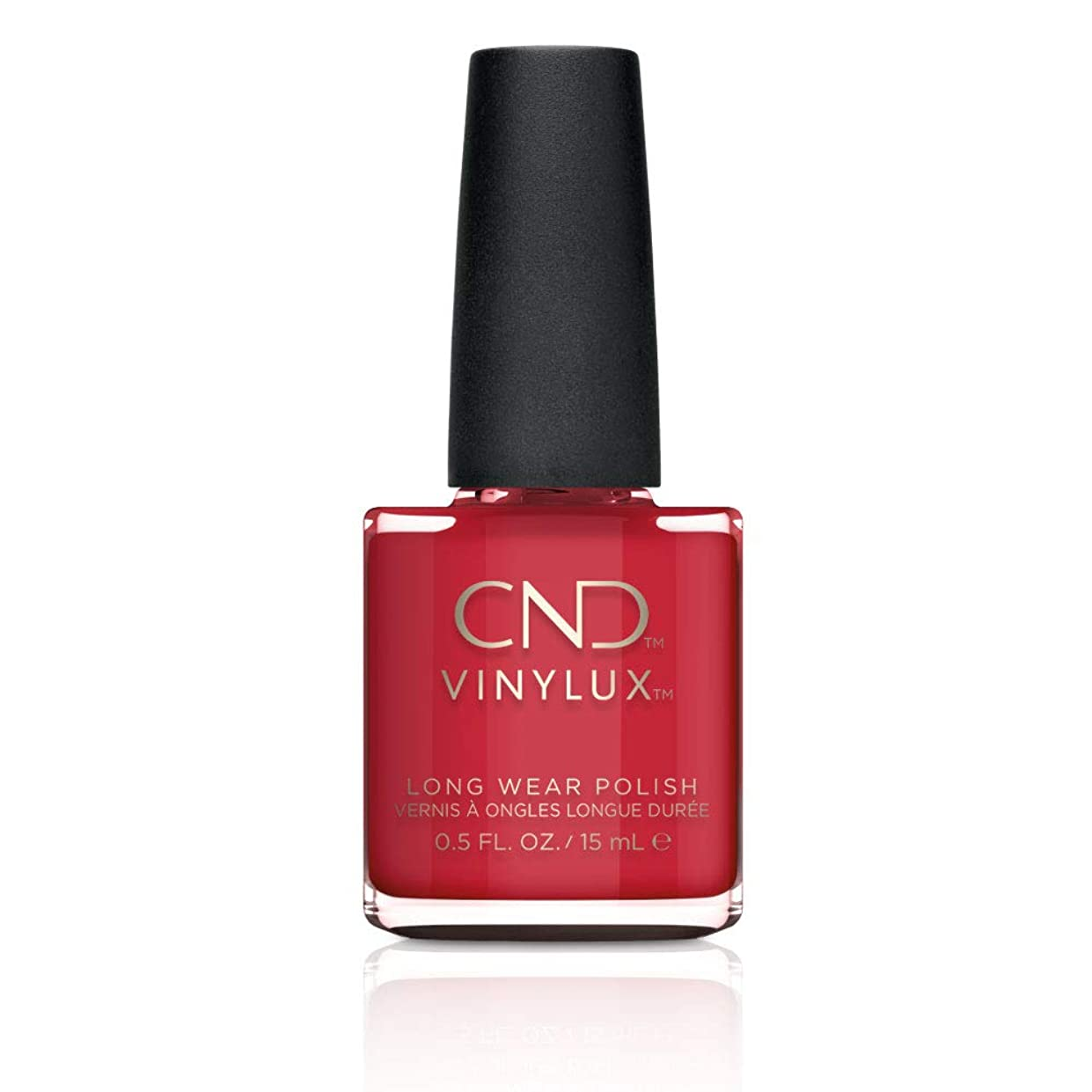 識別草ソースCND Vinylux Weekly Polish Colore 143 Rouge Red 15ml