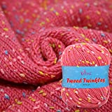 Best Baby Yarns - KnitPal Tweed Twinkles Soft Acrylic Baby Yarn Review
