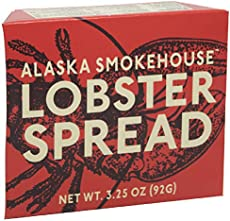 Alaska Smokehouse Lobster Spread Serving Design, 3.5 Ounce Boxes (Pack of 6)