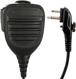 Vaorwne PTT Casque MIC Ecouteur pour HYT Hytera TC-500 TC-518 TC-580 TC-446S TC-600 TC-610 TC-620 TC-618 TC-700 Talkie-walkie