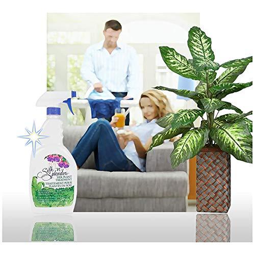 FloraCraft Silk'n Splendor Silk Plant Treatment 24 Ounce