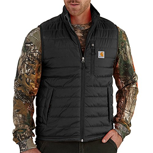 Carhartt Men's Gilliam Vest, Black, X-Large