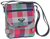 Roxy Never Seen X3 - Bolso Bandolera Multicolor AX Fancy Plaid Talla:14 cm
