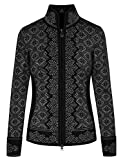 Dale of Norway - Chaqueta para Mujer Christiania, Color Negro/Gris Oscuro, Talla XXL,...