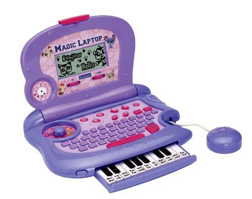 Lexibook - Littlest Pet Shop - JC260LPSi1 - Jeu Électronique - Magic Laptop Littlest Pet Shop (Fr/Gb)