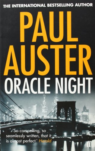 Oracle Night: Paul Auster