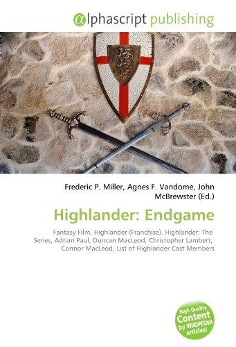 Highlander: Endgame: Fantasy Film, Highlander (Franchise), Highlander: The  Series, Adrian Paul, Duncan MacLeod, Christopher Lambert,  Connor MacLeod, List of Highlander Cast Members