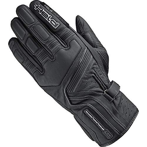 Held Leather Gloves Travel 5 Black 10