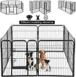 UNDERDOG Extra Heavy Duty Puppy Play Pen 8 x Panel Playpen Indoor/Outdoor Dog