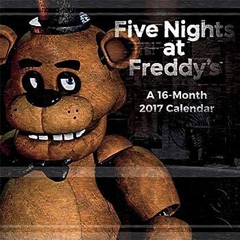 Five Nights At Freddy s - 2017 Calendar 12 x 12in