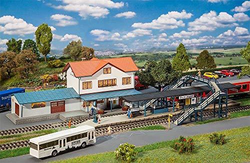 Faller 190066 H0 Aktions-Set Bahnhof Düningen