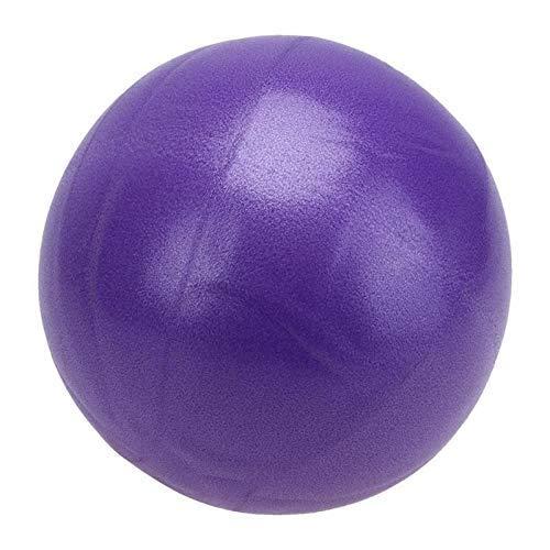 Jary 25 Cm Bola del Balance niños de Ejercicio físico Equipo de Pilates for Adultos Equipo de la Aptitud de la Yoga de la Bola Inicio Entrenador li (Color : Purple)