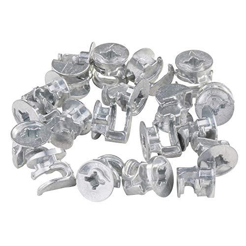 20 x Exzenter Möbelverbinder Schrankverbinder Durchmesser 15mm Plattenstärke 19-20mm