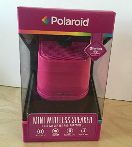 Polaroid Mini Wireless Portable Speaker Pink