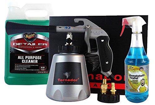 Preisvergleich Produktbild Tornador Black Z-020S Reinigungspistole & MEGUIAR'S + TUGA Universalreiniger