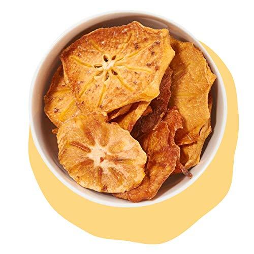 Sharon, getrocknete Sharon-frucht, Kaki, Persimone naturbelassen ungeschwefelt ohne Zucker von kultsnack (1000 g)