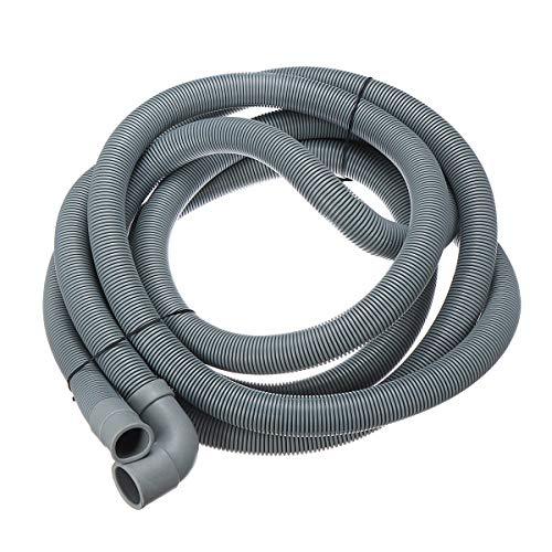 ZOYOSI Extensión flexible de 22 mm con soporte para manguera de drenaje de lavavajillas de 4 m
