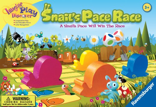 Image of Ravensburger Snail's Pace Race Game for Age 3 & Up - Quick Children's Racing Game Where Everyone Wins!