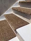 Oak Valley Designs Carpet Stair Treads - Style: Stoney Brook 31' Wide (Set of 14), Black Walnut