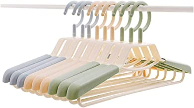 TXC- Hanger Seamless Non-Slip Clothing Support Household Clothes Rack Adult hanger Plastic hanger Multipurpose