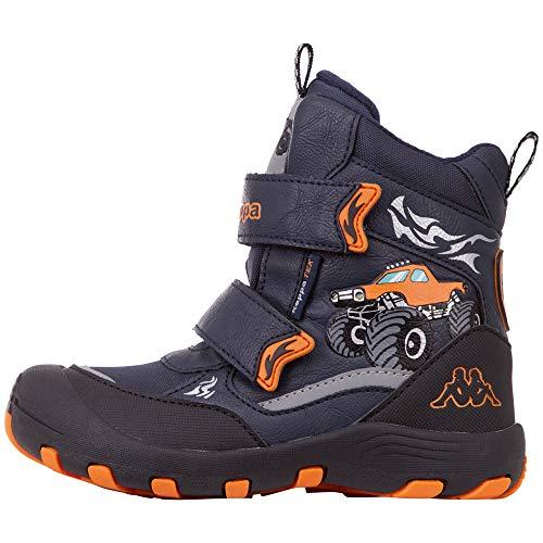 Kappa Big Wheel TEX Kids Klassische Stiefel, 6744 Navy/orange, 30 EU