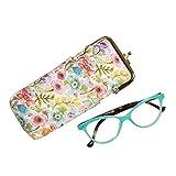 Buxton Women's Petite Garden Eyeglass Case