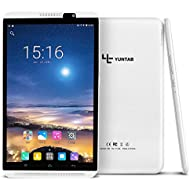 YUNTAB 8 inch Android Tablet, 4G Unlocked Smartphone, Support Dual SIM Cards, 2GB RAM 16GB ROM,...
