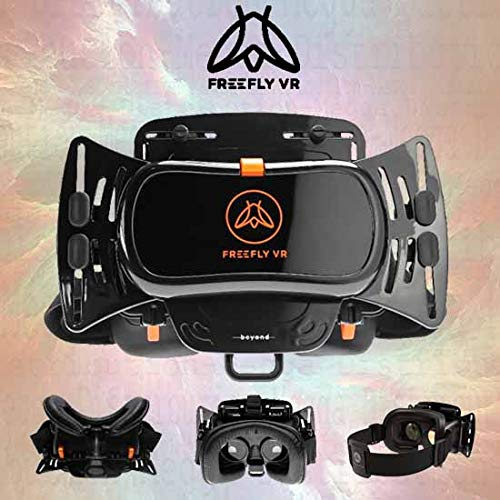 Proteus VR Labs 3D Glasses Universal VR Virtual Reality Gaming/Movie Theater Headset/Goggles - With 120° FOV & Leather Facial Cushioning - For Smartphone Lengths: 135mm to 165mm