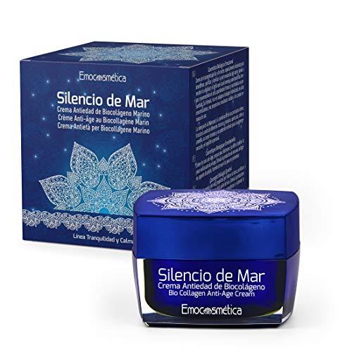 Bio Collagen Marine Anti-Aging Creme für Gesicht, Anti falten Vegan Creme - Silencio de Mar 50ml