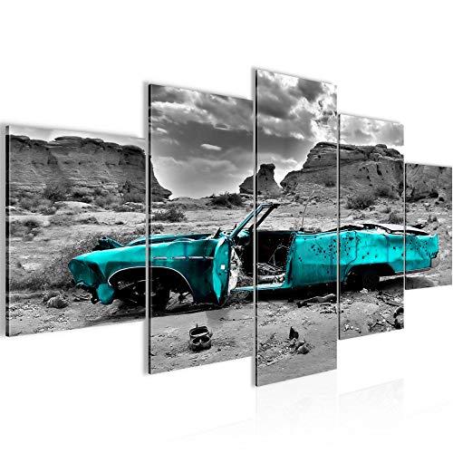 Bilder Auto Grand Canyon Wandbild Vlies - Leinwand Bild XXL Format Wandbilder Wohnung Deko Kunstdrucke - MADE IN GERMANY - Fertig zum Aufhängen 602253b