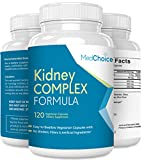 MedChoice Kidney Complex Formula - Daily Dietary Supplements - Optimum Support Pills - Natural Cleanse and Detox Formula - 120 Vegetarian Capsules