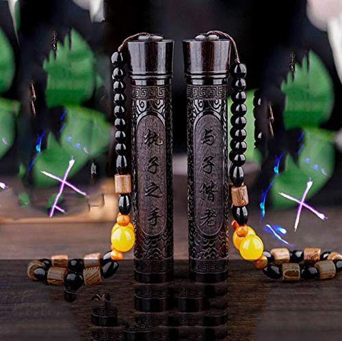 Amara Encendedor Electrico de sin Llama,USB Mechero de Arco Eléctrico Recargable,con Interruptor Seguridad,Negro y Ebony Tallado Retro,para Coleccionables/Regalos(2PC),H16