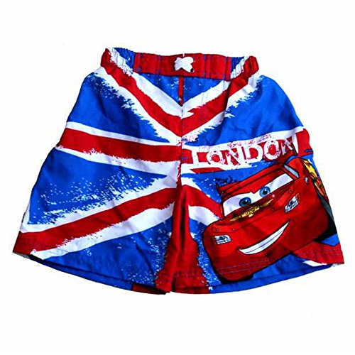 Cars zwembroek London | Disney kinderen Surfshorts | Shorty | Maat 98-128