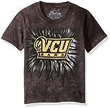 The Mountain Boys' Big Boys' Virginia Commonwealth University Vc University Inner Spirit Logo Youth T-Shirt, Black Wash, X-Large