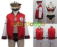 ✿KYUUCOS✿ Fate/Grand Order 織田信長 コスプレ衣装 水着 +帽+帽飾り 全セット